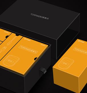 魅动音响包装-科技产品包装设计